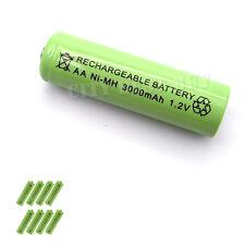 8 AA 2A 3000mAH 1.2V Rechargeable Battery Solar Light