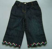 Nwt Gymboree Flower Garden Ankle Length Jeans Girl's Size 18-24M