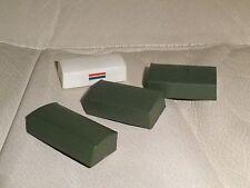 Kit plastique monté 1:72: décors diorama militaire, 4 caisses empilables