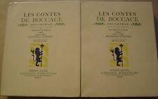LES CONTES DE BOCCACE - CINQ PREMIERES ET DERNIERES JOURNEES - BRUNELLESCHI 1934