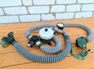 Military Ventilator Medical salvage double oxygen faucet air gauge