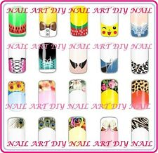 Nail Art Water Transfer Stickers-Decals FRENCH-Ricostruzione Unghie-Buy 3 Get 4!