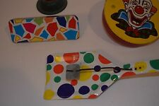 Set of Vintage 5 Noise Makers - US Metal Toy & Others