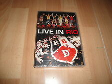 RBD LIVE IN RIO MUSIC DVD DEL POPULAR GRUPO DEL AÑO 2006 NUEVO PRECINTADO