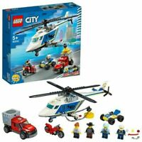 LEGO City Police Helicopter Chase Building Set - 60243 Brand New & Sealed