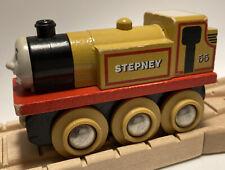 Vintage BRIO BRAND Thomas Wooden Railway Train Set Stepney Britt Allcroft Engine