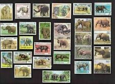 50 ELEPHANTS ON STAMPS