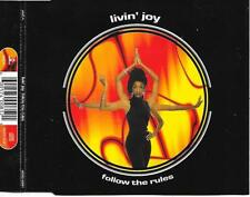 LIVIN' JOY - Follow the rules CDM 6TR Italo Euro House 1996 (MCA) Europe