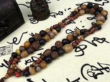 18 kinds of Bodhi seeds Tibetan Buddhism 108 prayer Beads Mala Necklace