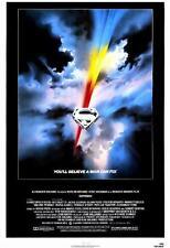 Superman I Original Movie Poster Single Sided 27x40