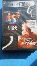 DVD 2X1 CINE HISTORICO -TRECE DIAS-LA DECISION DE SOPHIE