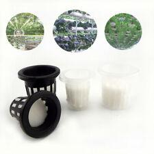10Pcs colonization Mesh Pot Net Cup Basket Hydroponic Aeroponic Planting Grow