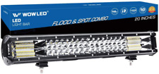 WOWLED 20 Inch 144W Flood and Spot Combo Light Bar (1902200)