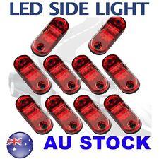 10X Red Side Light LED Marker Boat Trailer Clearance ABS DOT Proof 12V AU ship