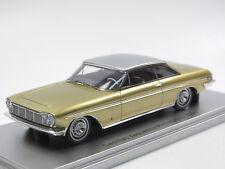 KESS Scale Models 1961 Cadillac Jacqueline Coupe by Pininfarina gold 1/43 NEU!