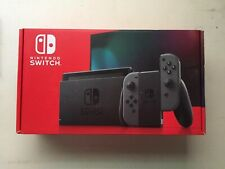 NINTENDO SWITCH NEWEST MODEL WITH GRAY JOY-CON 32GB FREE SHIPPING