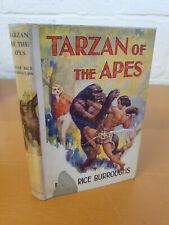 EDGAR RICE BURROUGHS Tarzan of the Apes - 1957 edition in d/j - w