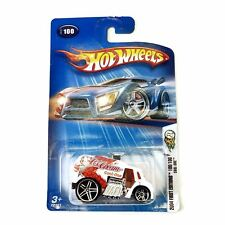 Hot Wheels 2004 First Editions, Cool-one #100 100/100, White and Orange, New