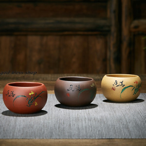 handmade tea cup authentic yixing zisha cup marked orchid master cup of tea new