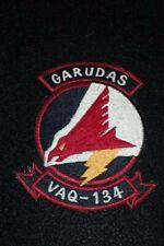 """Vietnam War Era US VAQ-134 """"Garudas"""" Flight Suit Jacket Patch 1970s Manufacture"""