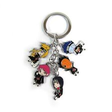 Anime Naruto Akatsuki Keychain with Deidara/Sasori/Obito/Itachi/Kisame Pendants
