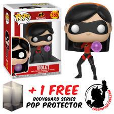 FUNKO POP VINYL DISNEY THE INCREDIBLES 2 VIOLET + FREE POP PROTECTOR