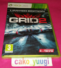 GRID 2 XBOX 360 NEUF SOUS BLISTER VERSION 100% FRANCAISE