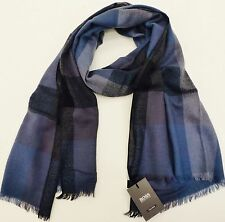 "Hugo Boss foulard cashmere & laine ""helion"" léger"