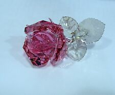 Swarovski 5094612 Blossoming Rose, Light Rose Crystal Figurine Authentic MIB