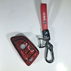 BMW Key Fob Cover, Blade Shape Soft TPU Key Case Shell-BMW X1 X3 X5 X6 Series
