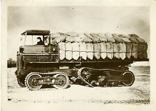 """CAMION VICKERS ARMSTRONG 1931"" Photo originale G. DEVRED (Agce ROL)"