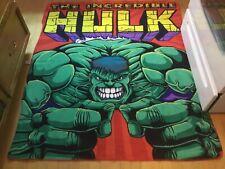 Marvel Kids The Incredible Hulk Reversible Throw Blanket 57h X 49 W Northwest Co