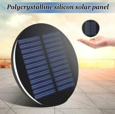 Mini Solar Panel Module 6V 2W 0.35A 80MM Round Poly DIY Epoxy Cell Battery