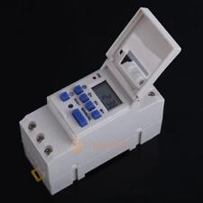 Horloge électronique Programmable hebdomadaire Commutateur de temps numérique 5A
