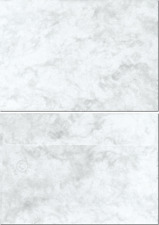 Marmorkuverts DIN C6 100 Kuverts grau