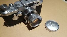 LEICA 35mm IIIg LEITZ M39 SCREW MOUNT CAMERA W SUMMICRON 1:2/50mm COATED LENS 3G