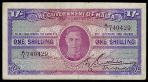 Malta • 1943 • One Shilling (1/-)