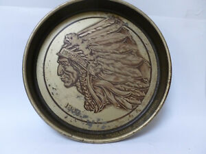 IROQUOIS BEVERAGE BUFFALO NY BEER SERVING TRAY - VINTAGE