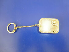 Vintage Swiss Reuge Minature Music Box Brass Case Musical Key Chain (See Video)