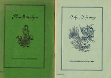 Grupe, jugo me subo + haselkätzchen, ciencias naturales historias cortas a. primavera, 1963