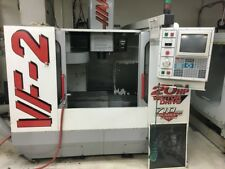 1998 Haas VF-2 VMC with Gearbox, PCool, Auger, Mist Collector & More.