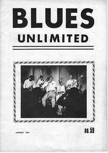 Blues Unlimited No 59, Jan 1969; Howlin' Wolf, Earl Hooker, AFBF reviews, etc