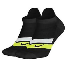 NIKE PERFORMANCE CUSHIONED RUNNING SOCKS, NEW, SX7046-010. SIZE 5-8EUR 38- 42