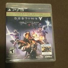 Sony PlayStation PS3 Video Game Destiny The Taken King Rated K Legendary Edition
