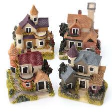 Mini Casa Jardín Hadas Miniatura Micro Paisaje Decoración Hogar Decoración De Resina