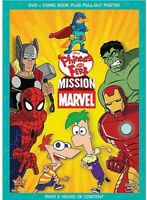 Phineas and Ferb: Mission Marvel [New DVD] Dolby, Subtitled, Widescreen