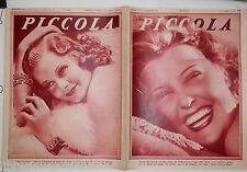PICCOLA 11 agosto 1936 Jeanette Mac Donald Fulvia Lanzi e Antonio Centa Harlow
