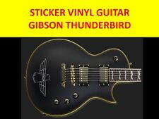 GIBSO THUNDERBIRD SILVER STICKER GUITAR VISIT OUR STORE WITH MANY MORE MODELS