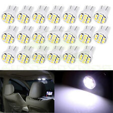 20X White T10 W5W 194 168 LED Instrument Dash Panel Gauge Light Bulbs For Chevy
