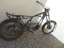 1971 Yamaha Dt-1 Frame 250cc Straight Bare Other Parts Available